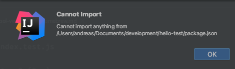 Cannot Import